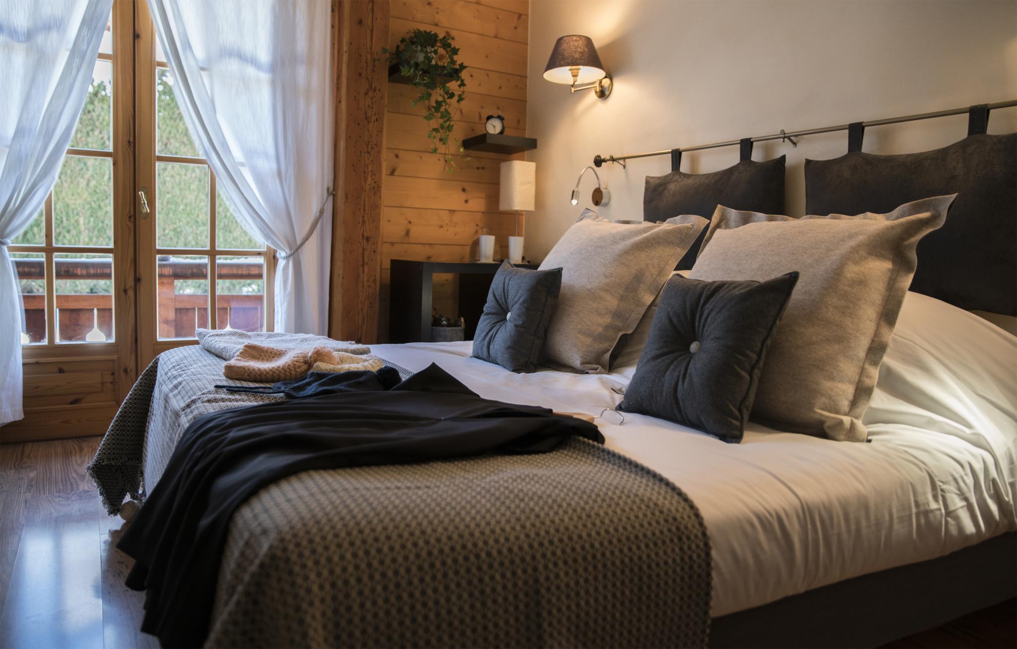 Hotel de Cupelin à Saint-Gervais : chambre double standard