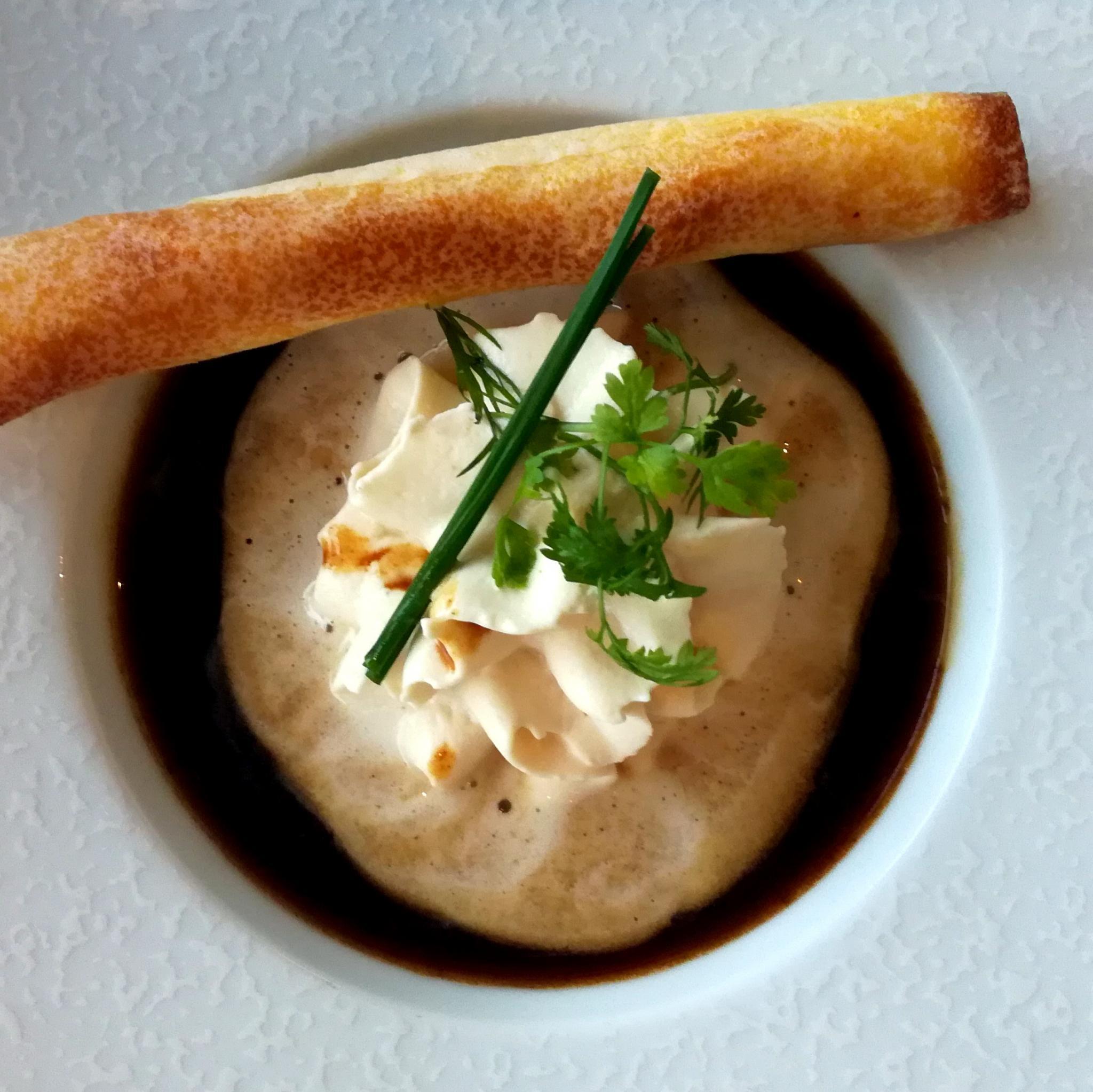 Soupe à l'oignon - restaurant de Cupelin à Saint-Gervais
