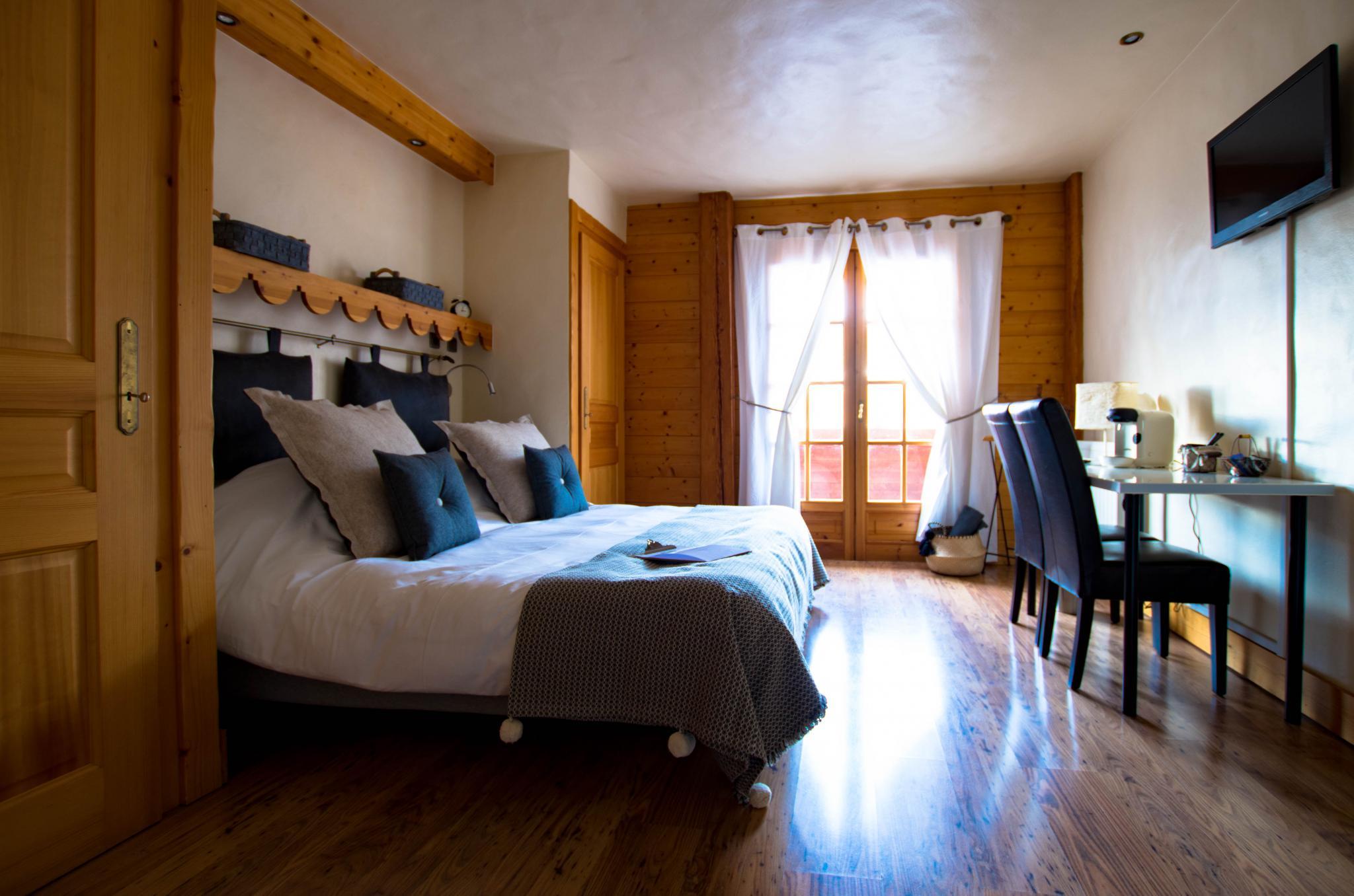 Hôtel de Cupelin à Saint-Gervais : chambre premium